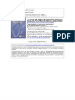 Applied Sports Psychology