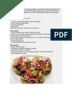 5 Platillos Cocina Yucateca