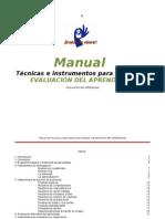 Técnicas e instrumentos para facilitar la EVALUACIÓN DEL APRENDIZAJE
