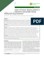 2011 Functionarea Tiroidei Este Agravata de Depresie La Pacientii Cu Boala Grave