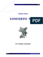 Peskin - Concerto No 1