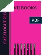 Vij Books India Pvt Ltd Catalogue 2013