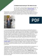 Massimo Sarmi, Poste Italiane lancia bond per 750 milioni di euro