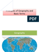 2 Principles of Geography and Basic Terms