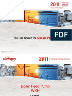 2011 Boiler Feed Pumps Thermosolar Conference V3 PDF
