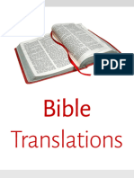 Bible Translations and The NIV Corruption