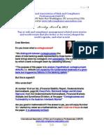 Risk Management Presentation March 4 2013