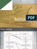 Geologi Rekayasa - Batuan