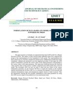 Formulation of Data Based Ann Model for Human Powered Oil Press