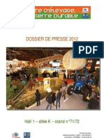 Dossier de presse Terre d'élevage, terre durable au Salon International de l'Agriculture 2012