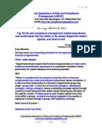Risk Management Presentation October 8 2012