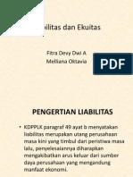 Liabilitas Dan Ekuitas dalam Laporan Keuangan