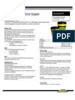 DATA_SHEET-Hydraulic Water-Stop Cement 1126