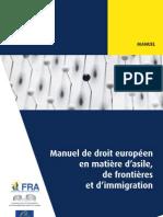 Manuel de droit européen en matière d'asile, de frontières et d'immigration