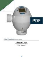 Toilet Guardian User Manual Version 3.0