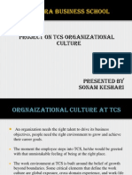 Culture Tcs