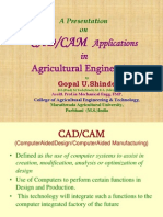 CAD CAM Application in Agricultural Engineering