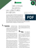 Essais Et Evaluation Des Structures an Beton - Cstc - Be