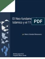 El neofunamentalismo islámico y el 11S
