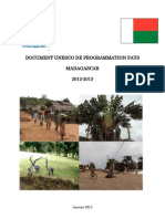 Document UNESCO de Programmation Pays - Madagascar 2012-2013