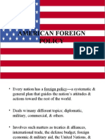 American Foreign Policy (Downloaded From Slideshare.net