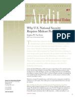 MIT (Israel-Palestine Conflict's Threat to U.S.)