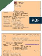 Guccifer Hacks Bush Family Contact List