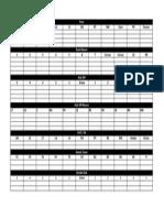 Blank ST Depth Chart