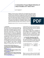 A Novel Method for Commutation Torque Ripple Reduction