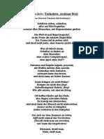 German Poem About War
