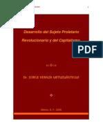 Desarrollo Del Sujeto Proletario Revolucionario Del Capitalismo Blogs