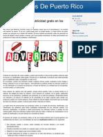 Usar Los Servicios de Publicidad Gratis en Los Clasificados Online