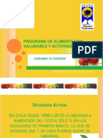 Programa de Alimentacion Saludable y Actividad Fisica,