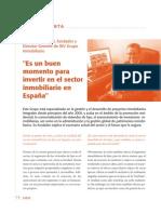 Entrevista Actualidad Inmobiliaria Junio 2013