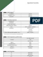 tabelle conversione