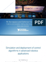 Simulation and deployment of control algorithms in advanced robotics applications.ontrols Matthews