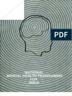National Mental Health Programme, India