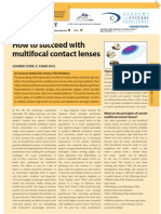 Multifocal Contact Lenses(1)