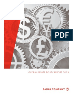 Bain and Company Global Private Equity Report 2013 Public