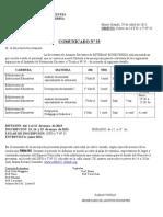 35 Comunicado n c2a6 35 Isfd n c2a6 35 Espacios