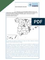 Resolución Geografía 4ª Parte Opción A Selectividad Madrid Junio 2013