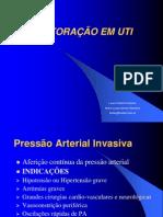 Monitorizacao Em UTI Profs Laura Molinaro e Malu Monteiro