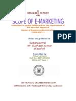 Scope of E-marketing.www