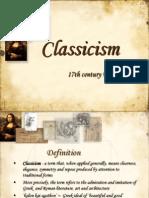 Classicism Short