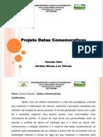 Projeto Datas Comemorativas