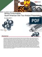 Analyst Presentation South America FINAL