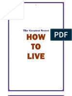 How To LIVE_Part 1