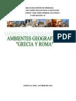 AMBIENTE GEOGRÁFICO DE GRECIA Y ROMA.doc