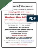 Good Time Golf Day Aug 23