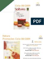 Natura - Promoções Ciclo 08/2009
